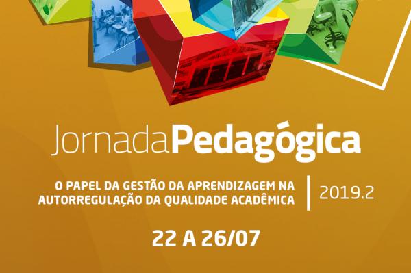 Jornada Pedagógica 2019.2 acontece de 22 a 26 de julho