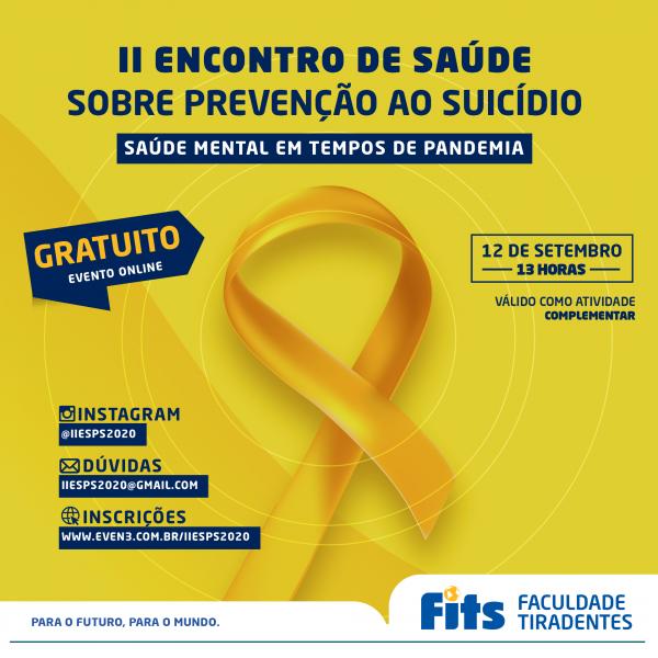 Setembro Amarelo -  Especialistas em comportamento debaterão saúde mental na pandemia