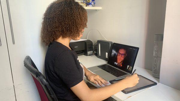 Aluna FITS se prepara para estágio na Itália, com aulas remotas e novo idioma
